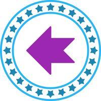 Vector LeftWard-pijlpictogram
