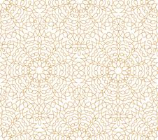 Abstract floral lijn Oosterse tegel patroon. Arabisch ornament