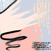 Abstracte creatieve artistieke kleurrijke achtergrond vector