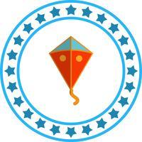 Vector vlieger pictogram