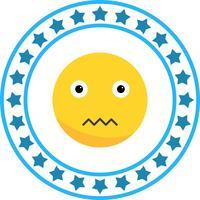 Vector Stille Emoji-pictogram
