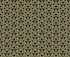 Arabisch naadloos ornamentpatroon. Sier decoratief patroon vector