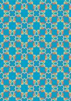 Aziatische traditie kunst patroon in vector