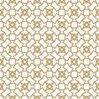 Abstract geometrisch decoratiepatroon met lijnen. Een naadloze vec vector