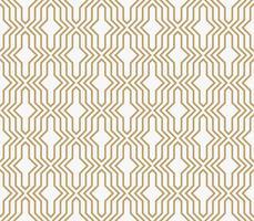 geometrische naadloze patroon met lijn, moderne minimalistische stijl pa vector