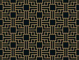 Abstract geometrisch patroon met lijnen. Een naadloze vector backgro