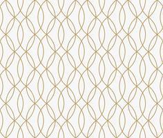 geometrische lijn ornament naadloze patroon, moderne minimalistische styl vector