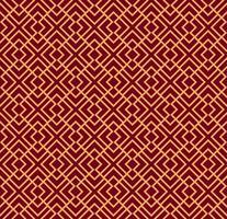 Naadloos vectorornament. Modern modieus geometrisch lineair geklets