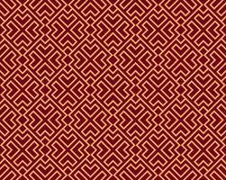 Vector naadloos patroon. Moderne stijlvolle abstracte textuur. Herhalende geometrische tegels van gestreepte elementen