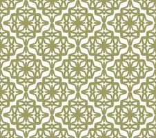Achtergrond van het art deco de naadloze patroon, antiek modieus ornament, v