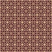 Luxe geometrische patroon. Vector naadloos patroon. Moderne lineaire stijlvolle textuur. Geometrisch gestreept ornament.
