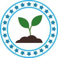 Vector bodem Plant pictogram