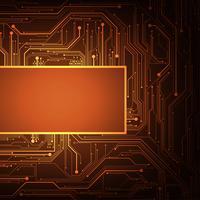 Het ontwerp van elektronische schakelingen is complex. vector