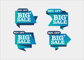 Kleurrijke winkelen schone creatieve vector png banners