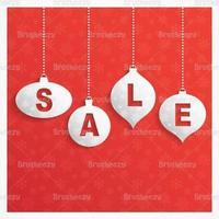 Retro Kerst verkoop vector