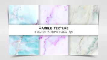 Achtergronden en texturen van Marble Premium Set Patterns Collection Template.