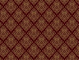 Webseamless luxe decoratieve achtergrond. Damast naadloos bloemenpatroon. Koninklijk behang. vector
