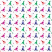 Gelukkige verjaardag patroon achtergrond vector