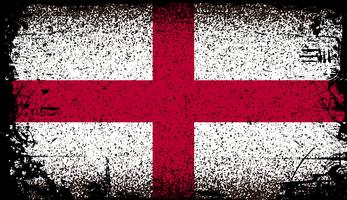 Engeland Grunge vlag vector