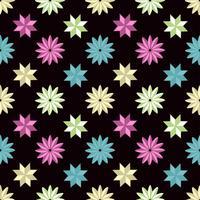 Patroon vorm achtergrond met pastel kleur vector