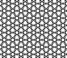 Abstract geometrisch naadloos patroon. Herhalende geometrische zwart-witte textuur. geometrische decoratie