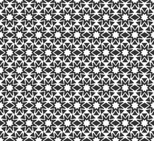 Abstract geometrisch naadloos patroon. Herhalende geometrische zwart-witte textuur.
