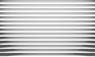Abstracte Witboek horizontale lijnentextuur en schaduwachtergrond. vector