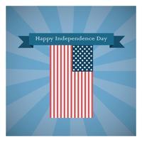 Onafhankelijkheidsdag groet vector