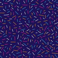 Abstracte kleurrijke memphis retro stijl van lijnenpatroon vector