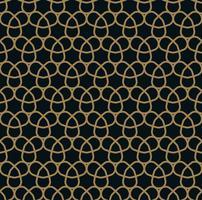 abstracte naadloze sieraad lijnen patroon vectorillustratie