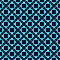 Vector naadloos patroon. Moderne stijlvolle lineaire textuur. Herhalende geometrische tegels met lijnelementen.