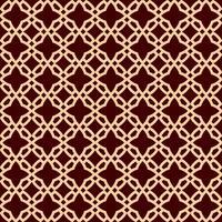 Naadloos geometrisch lijnpatroon. Eigentijds grafisch ontwerp. Eindeloze lineaire textuur voor behang, opvulpatronen, webpagina-achtige achtergrond. Zwart-wit gouden bruin geometrisch ornament