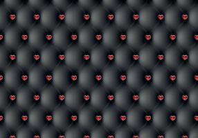 Leather Heart Vector Pattern