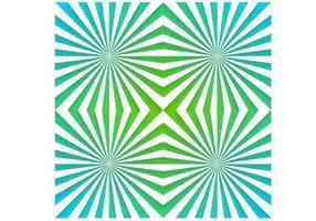 Emerald Sunburst vector behang pak