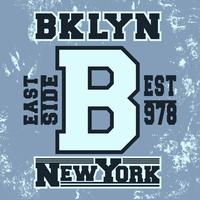 Brooklyn vintage stempel