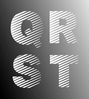 Strip lettertypesjabloon