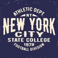 Vintage zegel van New York