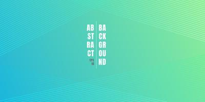 Abstracte blauwe en groene levendige kleurverloop achtergrond met diagonale lijnen patroon textuur. Zacht licht gekleurd decor met plaats voor tekst vector