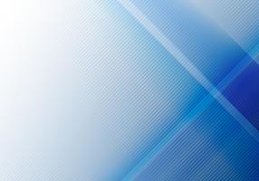Abstracte blauwe geometrische glans en laagelementen met diagonale lijnentextuur.