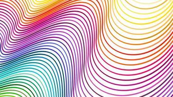 De mooie abstracte golfregenboog voor achtergrondillustratie vector
