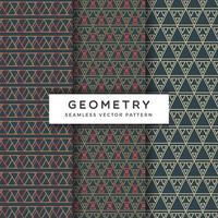 Abstract geometrisch naadloos vectorpatroon