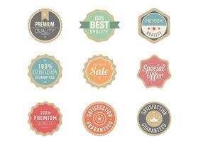 retro-badge vector pack