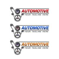 automotive logo sjabloonontwerp