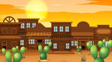 Een westerse saloon achtergrond