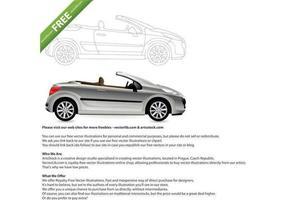 Cabriolet Auto Vector