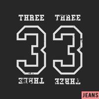 33 vintage stempel