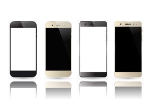 Smartphone leeg scherm