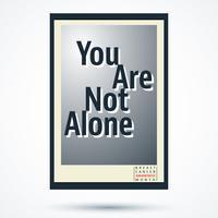 Borst kanker bewustzijn maand poster vector