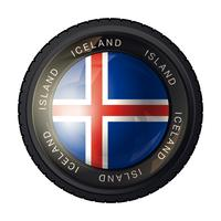 Vlag van IJsland pictogram