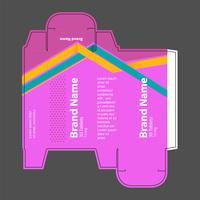 Drug box concept vector illustratie 03